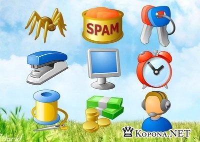 Коллекция иконок для вебмастера
