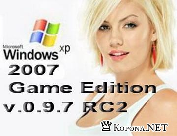Windows XP Pre SP3 Game Edition 2007