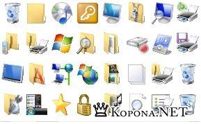 Windows Vista icon pack 2.1