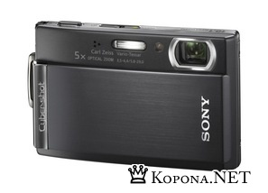 "Cyber-shot DSC-T300: 10-Мп компакт с 3,5"" сенсорным экраном"