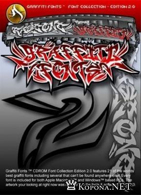 Шрифты в стиле Граффити
