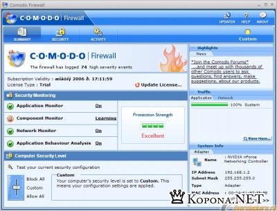 Comodo Firewall Pro 3.0.15.277 Final
