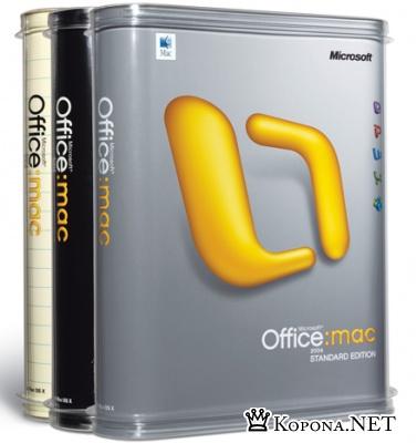 MS Office 2008 для MAC OS: - в продаже уже сегодня!