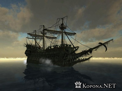 The Flying Dutchman 3d Screensaver 1.0