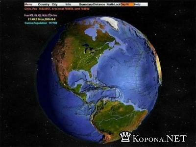 3D World Map v 2.1