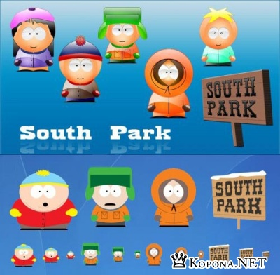 South Park Icons Pack