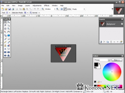 PORTABLE Paint.NET 3.22 - редактор графики