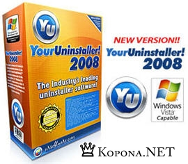 Portable Your Uninstaller! 2008 6.1.1236.0