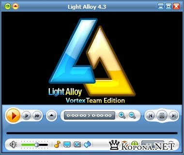 Light Alloy 4.3 build 706