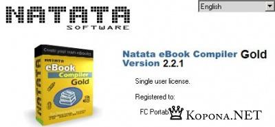 Portable Natata Ebook Compiler Gold 2.2.1