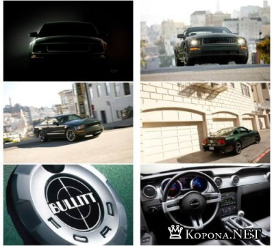 Ford Bullitt - широкоформатные обои (2560х1600)