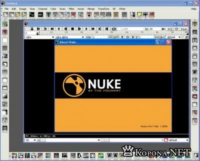The Foundry NUKE v4.8 V1 - программа для композитинга