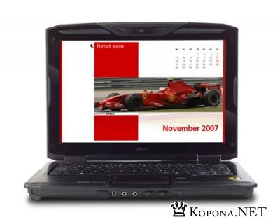 Ferrari 1100: новый портативный болид от Acer