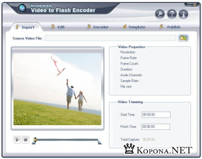 Wondershare Video to Flash Encoder 2.4.75