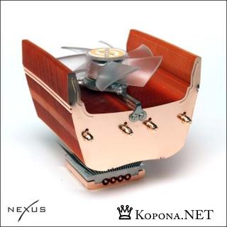 Процессорные кулеры Nexus XiR работают тихо и эффективно