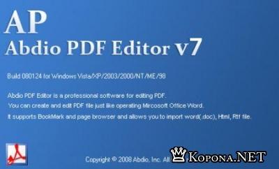 Abdio PDF Editor 7.1