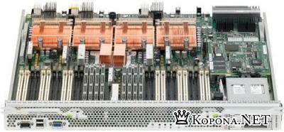 Sun представила модульный сервер с 32 слотами DIMM