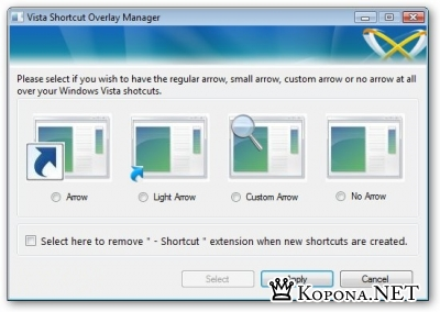 Frameworkx Vista Shortcut 1.3