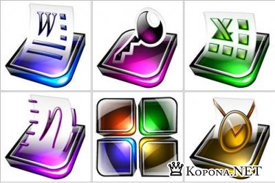 PNG иконки - Digital Office