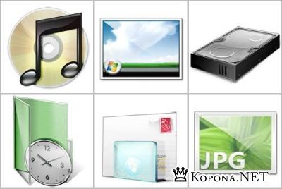 Influens Icons - PNG иконки