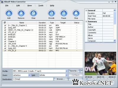 Xilisoft Video Converter 3.1.52.0201b
