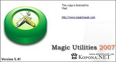 Magic Utilities 2007 5.41