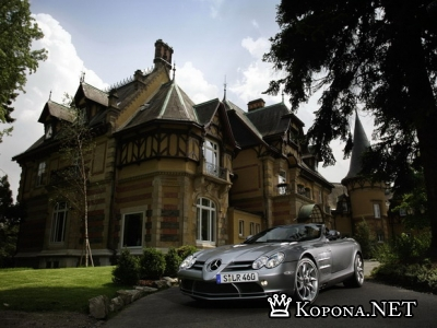 Mercedes-Benz SLR McLaren Roadster 2008 - wallpapers pack