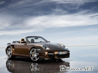 Porsche 911 Turbo Cabriolet (997) - wallpapers pack
