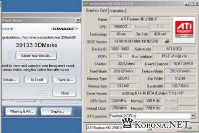 ATI Radeon HD бьет рекорды производительности