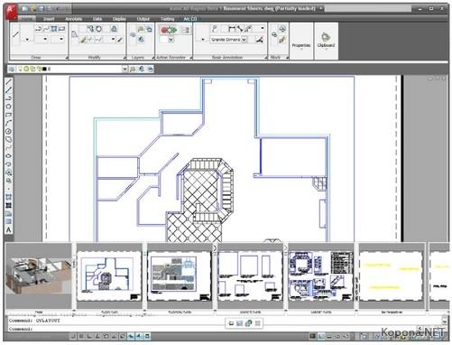 Autodesk AutoCAD 2009 x86-x64 Официальная русская версия.