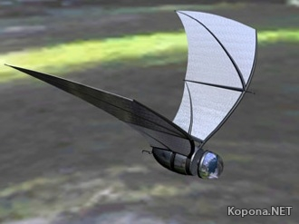 Летучий робот-шпион