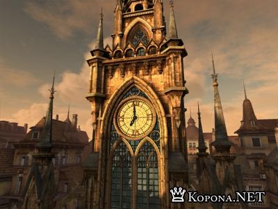 Clock Tower 3D Screensaver 1.1