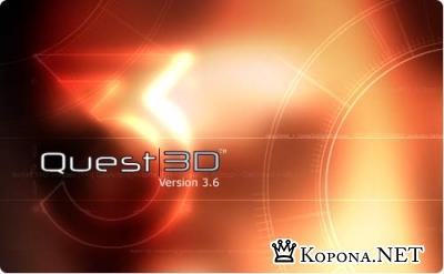 Quest3D VR Edition 3.6