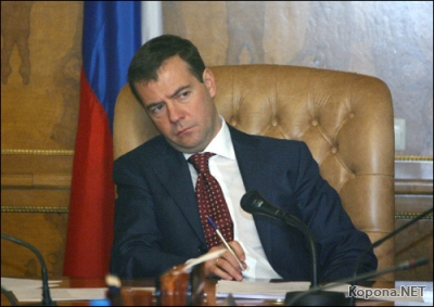 Агентство Reuters обнаружило Медведева в Кремле