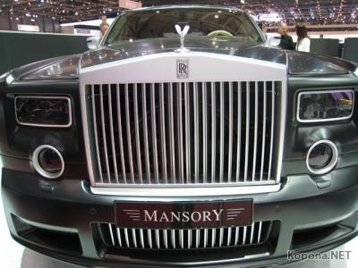 Mansory шокировала Женеву тремя суперкарами