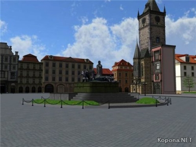 Prague Old Town Square 3D - Screensaver