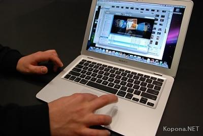 Начались продажи MacBook Air в России