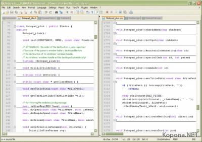 Notepad++ 4.8.2