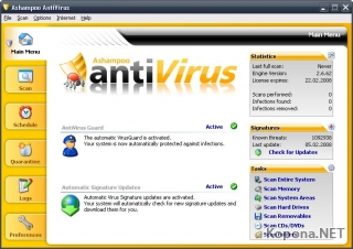 Ashampoo AntiVirus 1.61 Multilanguage