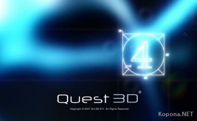 Quest3D v4.0 All Edition + Serials