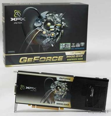 Официальный анонс NVIDIA GeForce 9800 GX2