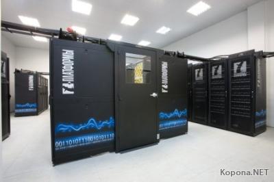 Суперкомпьютер, обрабатывающий квадриллионы операций в секунду