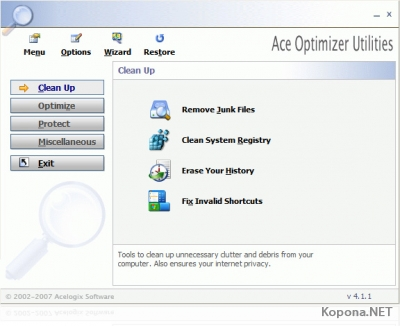 Ace Optimizer Utilities v4.1.1