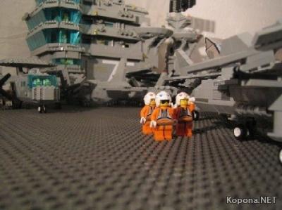 Лего - конструктор моего детства...