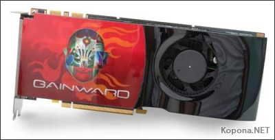 GeForce 9800 GTX от Gainward