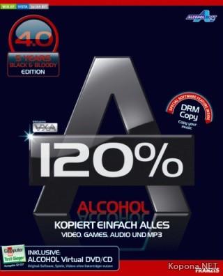 Alcohol 120% 4.0 Black Edition Multilanguage