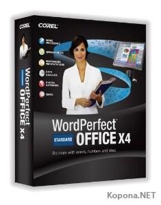 Corel WordPerfect Office X4 build 14