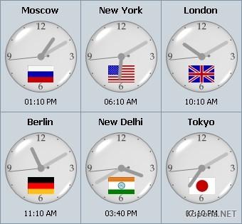 Sharp World Clock v2.14