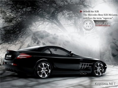 Maclaren - Mercedes SLR Roadster - Wallpapers