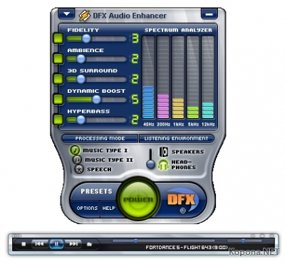 DFX Audio Enhancer v8.403